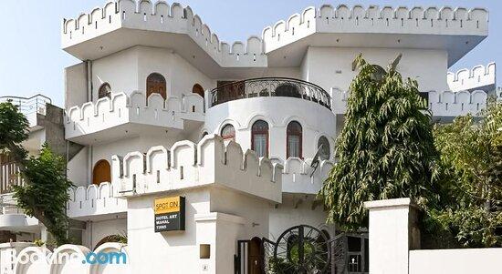 Fotos de SPOT ON 73995 Hotel Art Mahal – Fotos do Jaipur - Tripadvisor