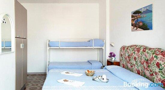 Bed - Hotel La Maggioressa, 이스키아 섬 사진 - 트립어드바이저