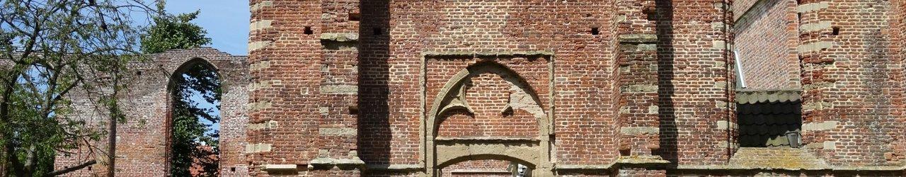 De Ruinekerk van Bergen uit 1597