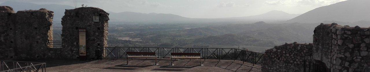 Resti del Castello Colonna di Olevano Romano