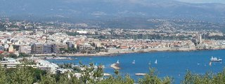 View of Antibes - Old town and Juan les Pins