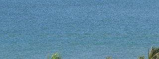 そごう3Fベランダからクタ海岸を眺めます。