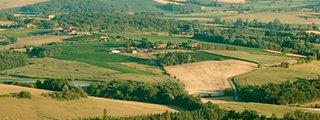 Vue aérienne de Nogaro