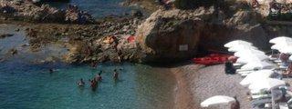 La Spiaggetta dei Balzi Rossi