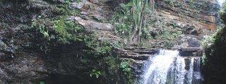 Air Mertua Waterfall