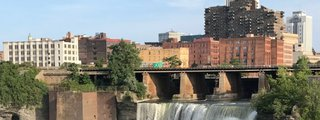 Genesee River's High Falls
