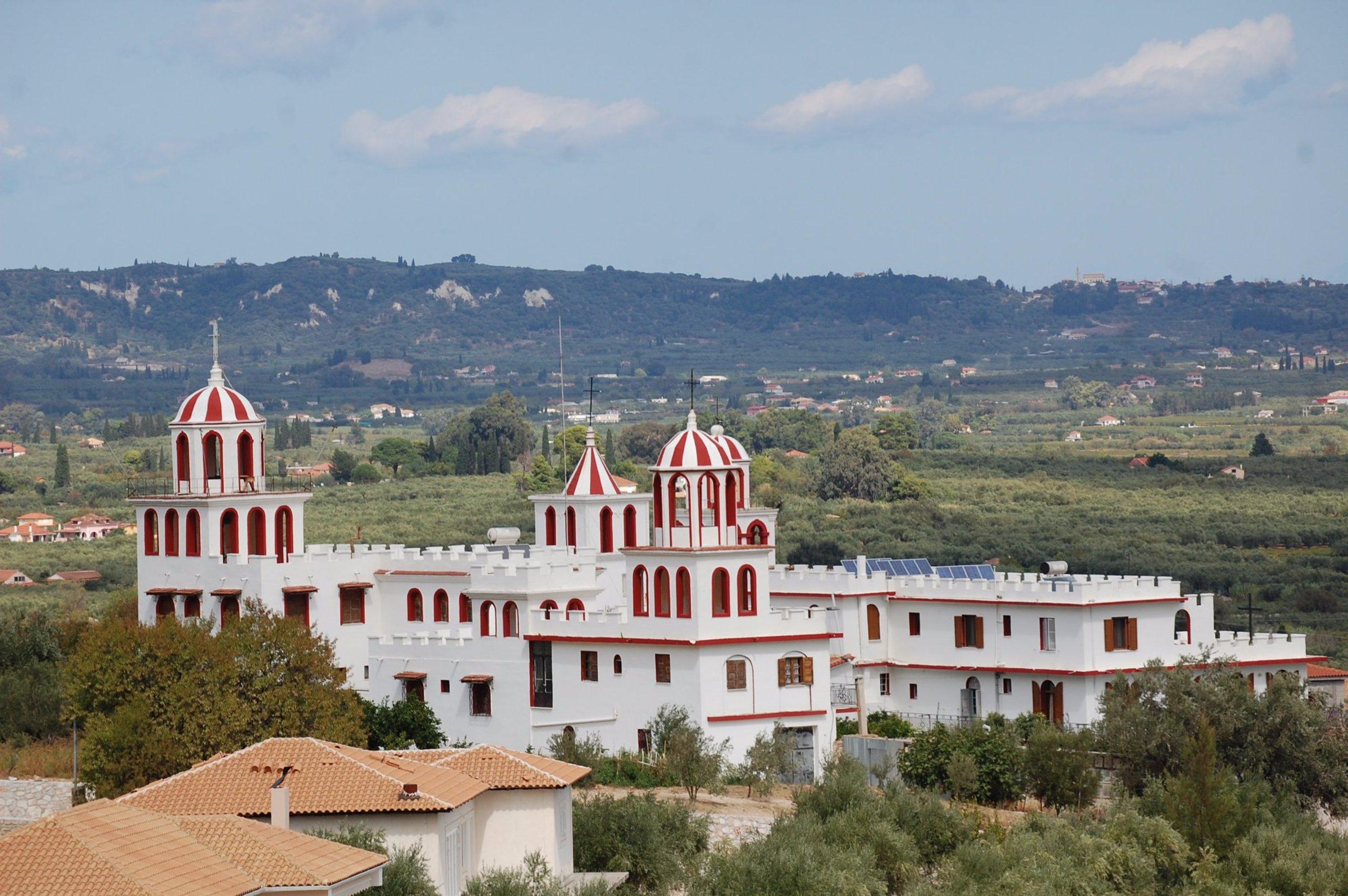 Cosa vedere a Zante monastero
