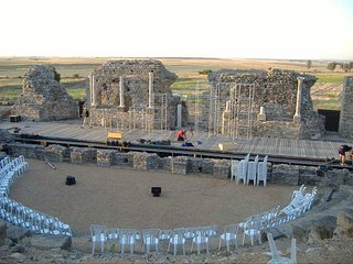 Ruinas del Teatro Romano de Regina
