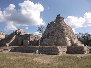 Site Maya de Dzibilnocac Dans le Yucatan