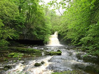 West Burton Falls