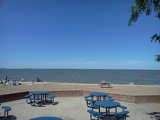 Fairport Harbor Lakefront Park Beach