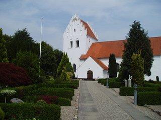 Orsted Kirke I Assens Kommune Paa Fyn