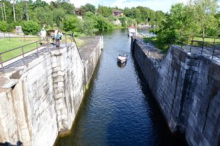 Lock 34 & Fenelon Waterall