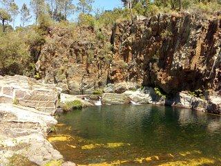 Poço da Cesta - praia fluvial de Casal Novo