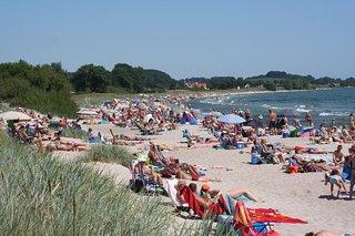 Mossbystrand beach