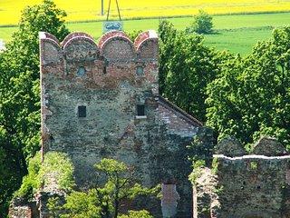 Ruiny Zamku Książęcego w Ząbkowicach Śląskich
