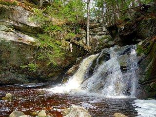 Purgatory Falls - Lower Falls