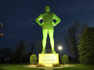 Green Giant Statue Park