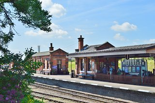 ‪Quorn & Woodhouse Railway Station‬