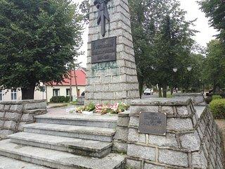 Pomnik upamiętniajcy powstańców wielkopolskich