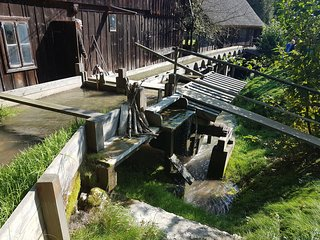 Boronówka historic water mill and sawmill