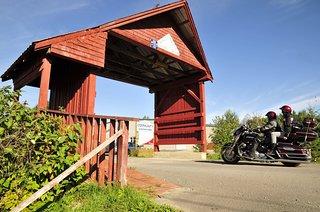 World's Shortest Covered Bridge