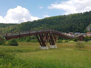 Holzbrücke Tatzlwurm