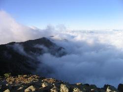 View from near the summit of Haleakala