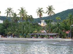 Beachfront Restaurants near the Muelle Pier
