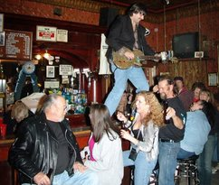 Party Time at the Pioneer Saloon