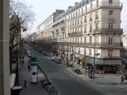 La Favorite Brasserie across from Paris France Hotel