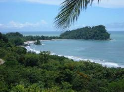 View from the pool of Manuel Antonio park and beach (1136347)