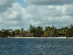 Maritim beach from glass bottomed boat trip