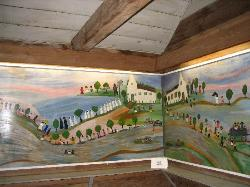 Clementine Hunter's Mural in African House