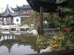 ポートランド伝統的中国庭園