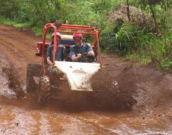 Kauai ATV Tour in the mud