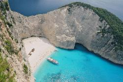 Ship Wreck Beach Zakinthos Greece (1272854)
