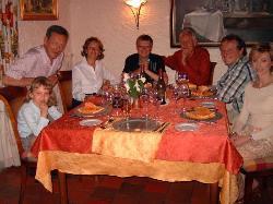 Un dîner à Concasty
