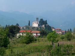 Barga from a walk to Tiglio Basso