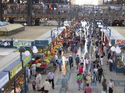布达佩斯中央大市场