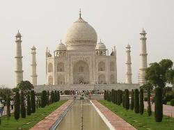 Taj Mahal - June 2006 - mid afternoon