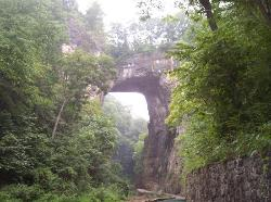 The Natural Bridge of Virginia