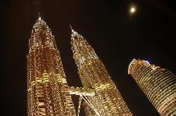 View of KLCC from Room 1014