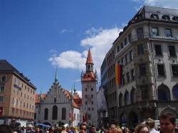 Plac Mariacki w Monachium