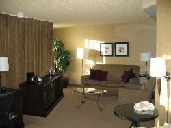 Jr. Suite - Living Area