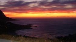 sunset in lundudno