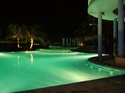 Pool bar Night View