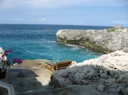 Cliffside swimming