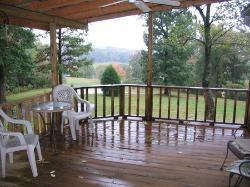 relax on the comfortable deck