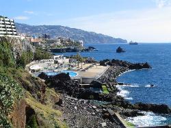 Coastal walk down into Funchal